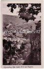 Ansichtskarte 07427 Schwarzburg Ortsansicht Panorama Blick vom Trippstein