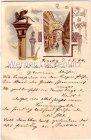 Venezia Venedig Saluti da Venezia Litho 1894
