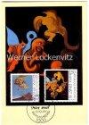 Maximumkarte 100. Geburtstag von Max Ernst Nach uns die Mutterschaft