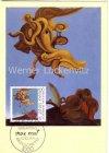 Maximumkarte 100. Geburtstag von Max Ernst Vogeldenkmal