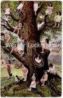 Ansichtskarte Kleine Kinder auf einem Baum