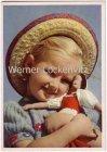Ansichtskarte Kleines Mädchen mit Ihrer Puppe