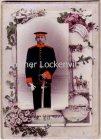 Leipzig Erinnerung an meine Dienstzeit Portraitfoto eines Soldaten Militär Pappfoto CDV