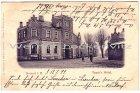 Ansichtskarte Nortorf Straßenansicht mit Tancks Hotel