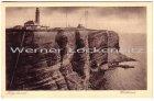 Ansichtskarte Helgoland Westküste Leuchtturm Funkmasten Dampfer Kaiser