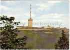 Ansichtskarte Brocken Blick vom Torfhaus Teleaufnahme Brockengebäude mit Funkturm