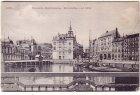 Ansichtskarte Kiel Deutsche Reichshallen Bootshafen und Wall