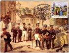 Langen Maximumkarte LAPHILA 81 Tag der Briefmarke Postkutsche Maximumkarten