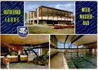 Ansichtskarte Laboe Meerwasserbad Schwimmbad Außen-und Innenansicht