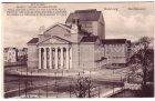 Alte Ansichtskarte Duisburg Stadttheater mit Spruch
