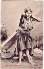 Ansichtskarte Indien Colly Woman Darjeeling