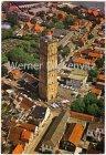 Ansichtskarte Niederlande Terschelling West-Terschelling met vuurtoren Brandaris in vogelvlucht