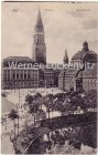 Ansichtskarte Kiel Rathaus und Stadttheater