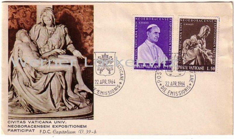 Vatikan Ersttagsbrief FDC