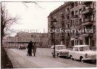 Foto Berlin Mauer und Sichtblende vom Ost-Berliner Stadtbezirk Mitte her gesehen Grenze