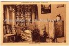 Ansichtskarte Tönning an der Eider St. Peter-Ording Heimatmuseum des Kreises Eiderstedt Alteiderstedter Stube mit Wiege und Spinnrad