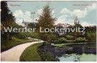Ansichtskarte Rendsburg Partie am Gerhardsteich mit Feldpoststempel Schleswig-Holsteinische Train-Abteilung