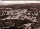 Ansichtskarte Bayerisch Eisenstein Ortsansicht Panorama Grenze Luftbild
