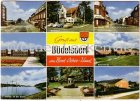 Ansichtskarte Büdelsdorf bei Rendsburg Kindergarten Altenheim Neue Schule Hollerstraße