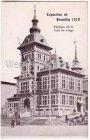 Ansichtskarte Belgien Exposition de Bruxelles 1910 Weltausstellung Brüssel Pavillon de la Ville de Liege