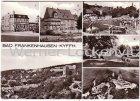 Ansichtskarte 06567 Bad Frankenhausen Kyffhäuser mehrfach Panorama Freibad Jugendherberge Apotheke
