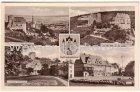 Ansichtskarte 06567 Bad Frankenhausen Kyffhäuser Hausmannsturm Geschwister-Scholl-Straße Anger