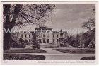 Ansichtskarte Kiel Schloßgarten mit Universität und Kaiser Wilhelm I.-Denkmal
