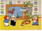 Ansichtskarte Die Mainzelmännchen Sporttaucher Comic Humor