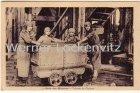 Ansichtskarte Carte Postale Frankreich France Mineurs Trieuses de Charbon Bergbau Frauen Béthune Pas-de-Calais Serie