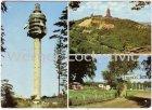 Ansichtskarte 06567 Bad Frankenhausen Kyffhäuser mehrfach Fernsehturm Kulpenberg Pionierlager Rathsfeld