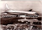 Ansichtskarte Convair-Flugzeug Gemeinschaft für Flugtouristik Werbekarte Touropa-Scharnow-Hummel