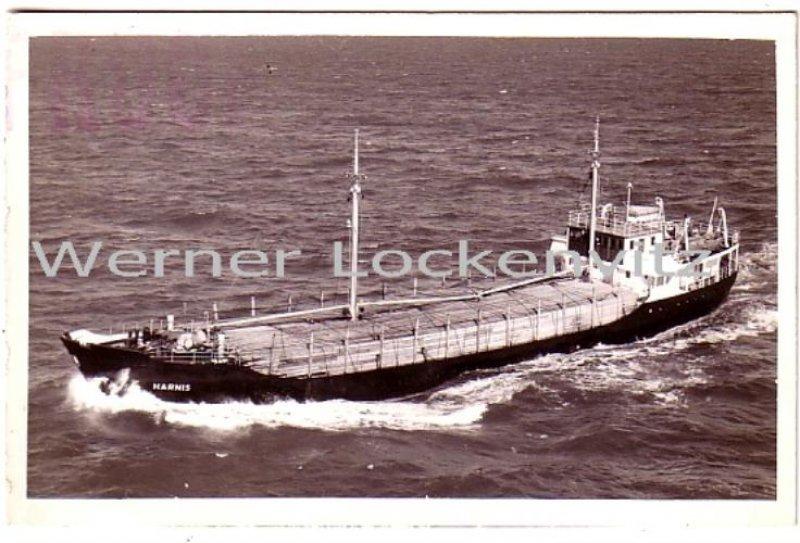 Ansichtskarte Frachtschiff MS Harnis