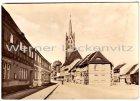 Ansichtskarte 06901 Kemberg Kreis Wittenberg Lutherstadt Wittenberger Strasse