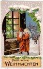Alte Ansichtskarte Fröhliche Weihnachten Weihnachtsmann