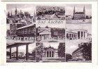 Ansichtskarte Aachen Kurhaus Quellenhof Theater Bahnpoststempel