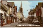 Ansichtskarte Church Street Showing St. Nicholas Church Harwich Essex