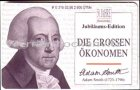 Adam Smith Serie die grossen Ökonomen Telefonkarte