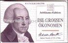 Adam Smith Serie die grossen Ökonomen Telefonkarte