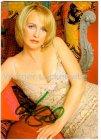 Ansichtskarte Autogrammkarte Kristina Bach Sängerin mit Originalautogramm