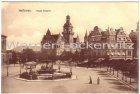 Alte Ansichtskarte Heilbronn Neues Postamt mit Straßenbahn und Hotel Royal