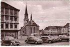 Ansichtskarte Zweibrücken Alexanderkirche KFZ Käfer