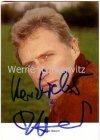 Ansichtskarte Autogrammkarte Robert Atzorn Schauspieler mit Originalautogramm