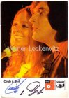 Ansichtskarte Autogrammkarte Cindy & Bert Gesangsduo mit Originalautogramm