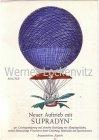 Ansichtskarte Ballonpost Freiballon D-Bernina Hoffmann-La Roche