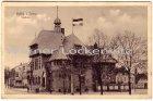 Alte Ansichtskarte Burg auf Fehmarn Rathaus