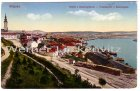 Ansichtskarte Serbien Belgrad Beograd Totalansicht von Kalimegdan K.u.k.- Feldpost