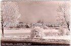 Ansichtskarte Fulda Panorama im Winter frohe Weihnachten
