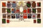 Ansichtskarte Ein Deutscher Gruss Wappen der Deutschen Länder Praegedruck