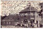 Ansichtskarte Kiel-Wellingdorf Geschäft von Johannes Frahm Ecke Klausdorfer Weg