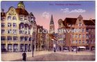Ansichtskarte Kiel Fleethörn mit Rathausturm